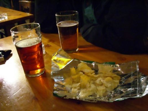 Beers and chips