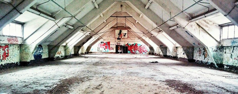 Berlin's Abandoned Buildings: Soviet Tank Barracks