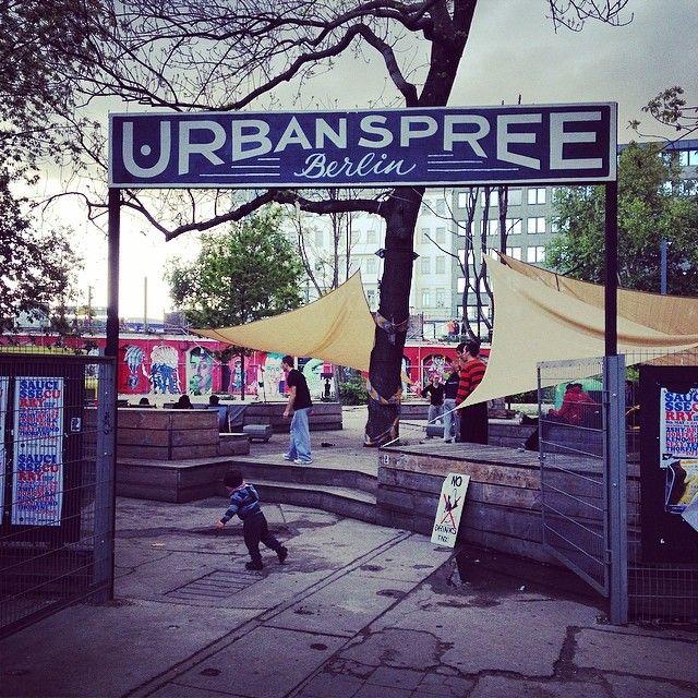 Urban Spree Urban Spree Berlin #sign by @rylsee