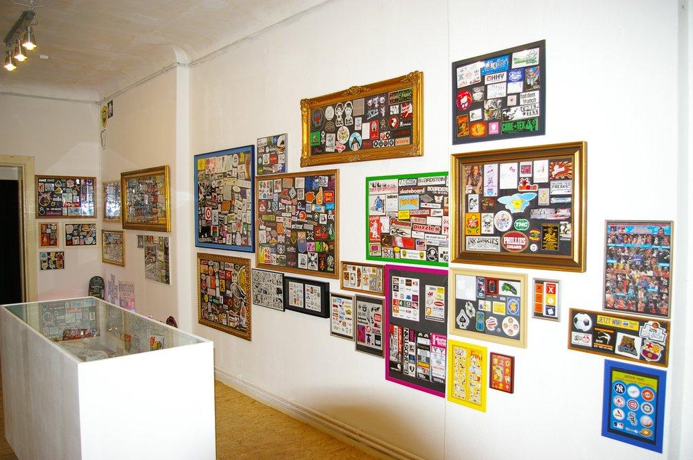 Hatch sticker museum