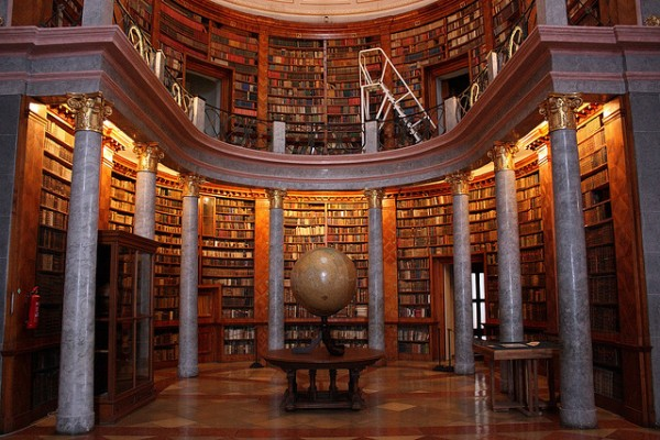 Pannonhalma_Library_of_the_Abbey
