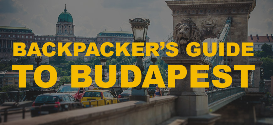 Infographic: Backpacker's guide to Budapest
