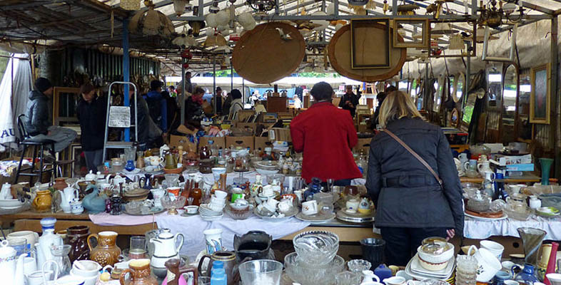 Berlin, city of flea markets