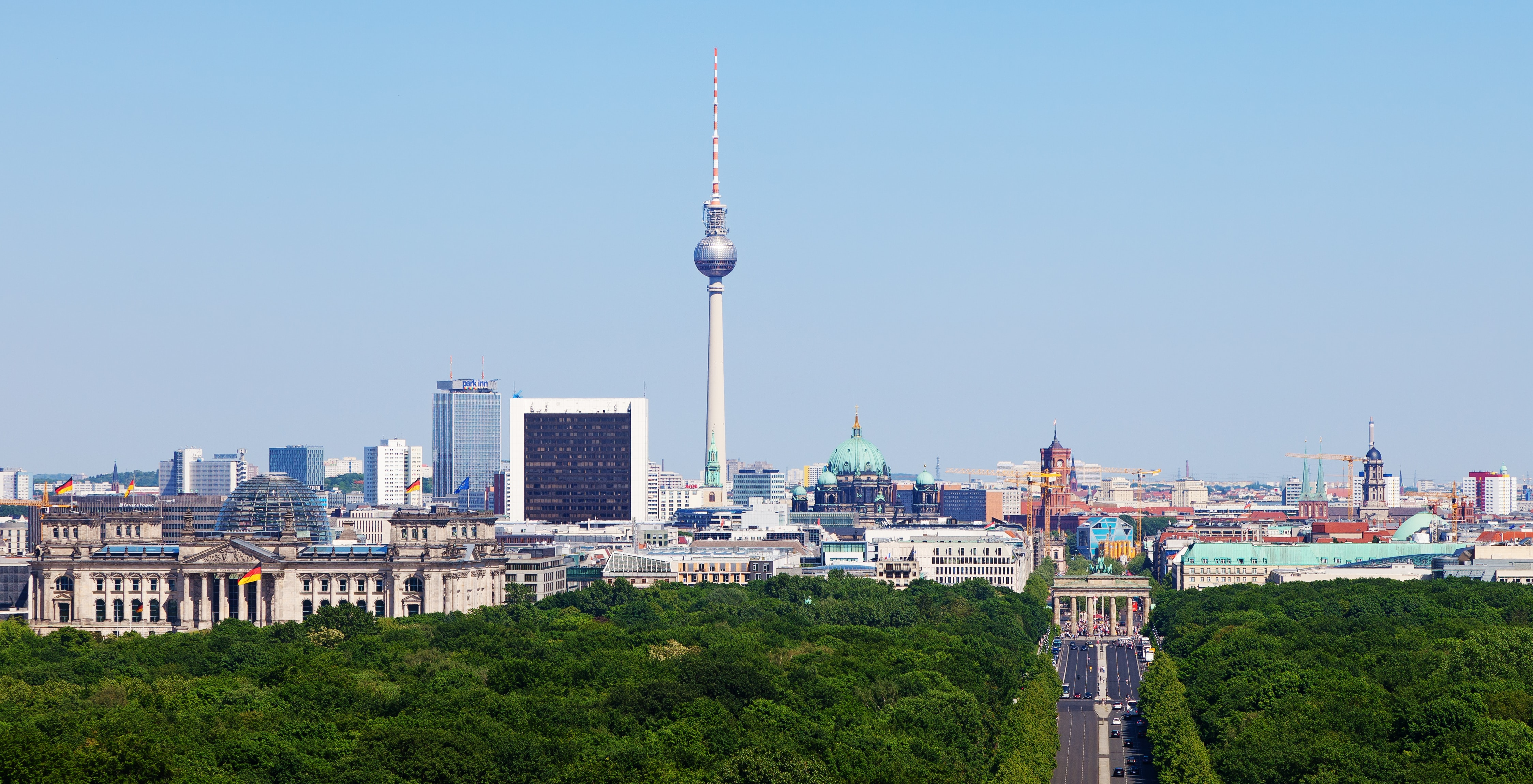 The 5 Best Views of Berlin
