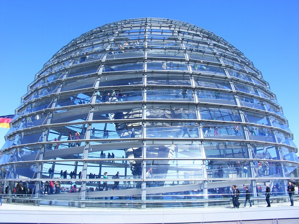 The Reichstag dome - Mitte, Berlin
