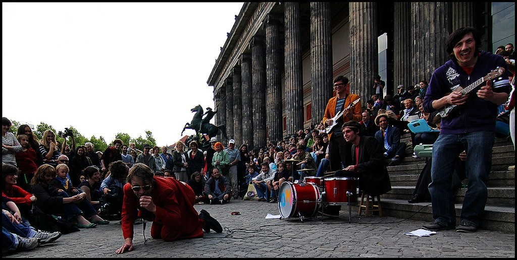 Buskers Altes Museum