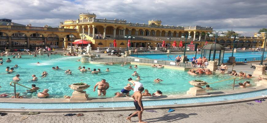 Top 5 Baths in Budapest