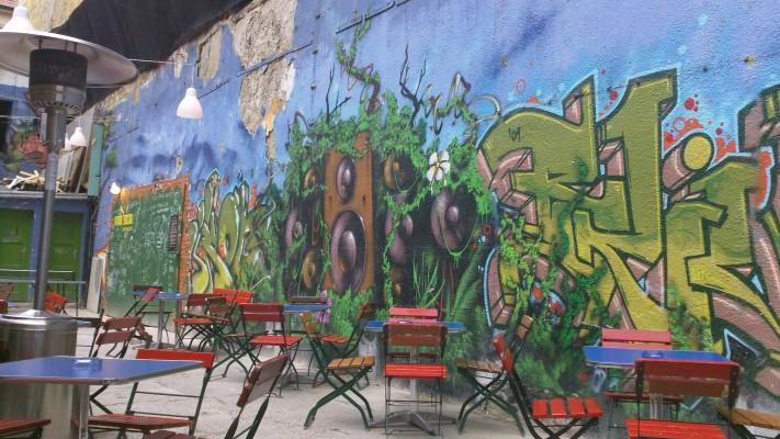 Mural in Kuplung