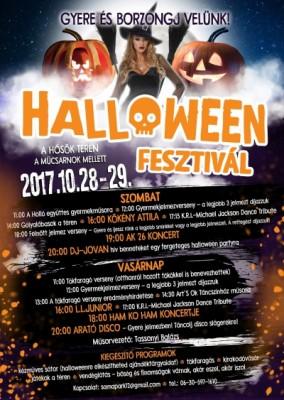 Halloween festival in Budapest 2017
