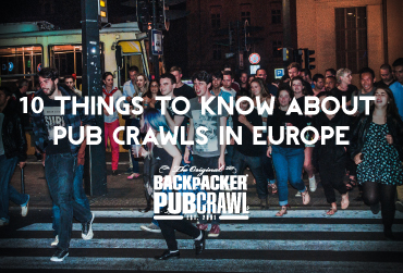 10 Things to Know about Pub Crawls in Europe