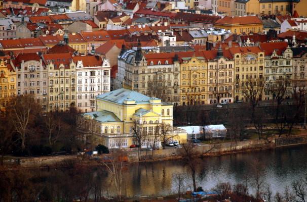 A historic castle in Prague as seen on a Prague city tour