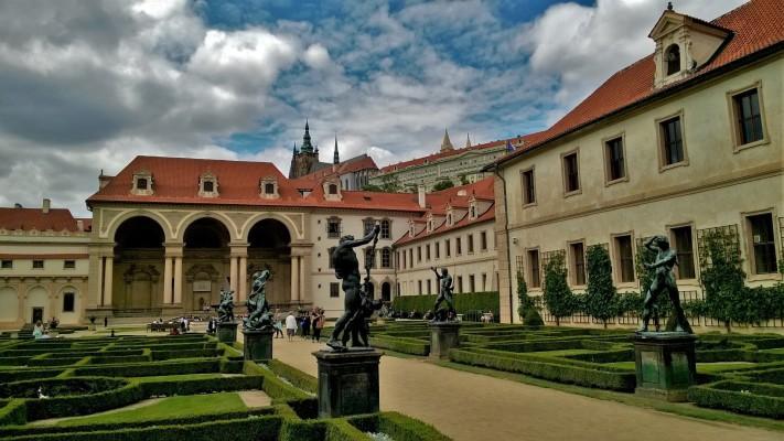 Wallenstein Palace on a Prague walking tour