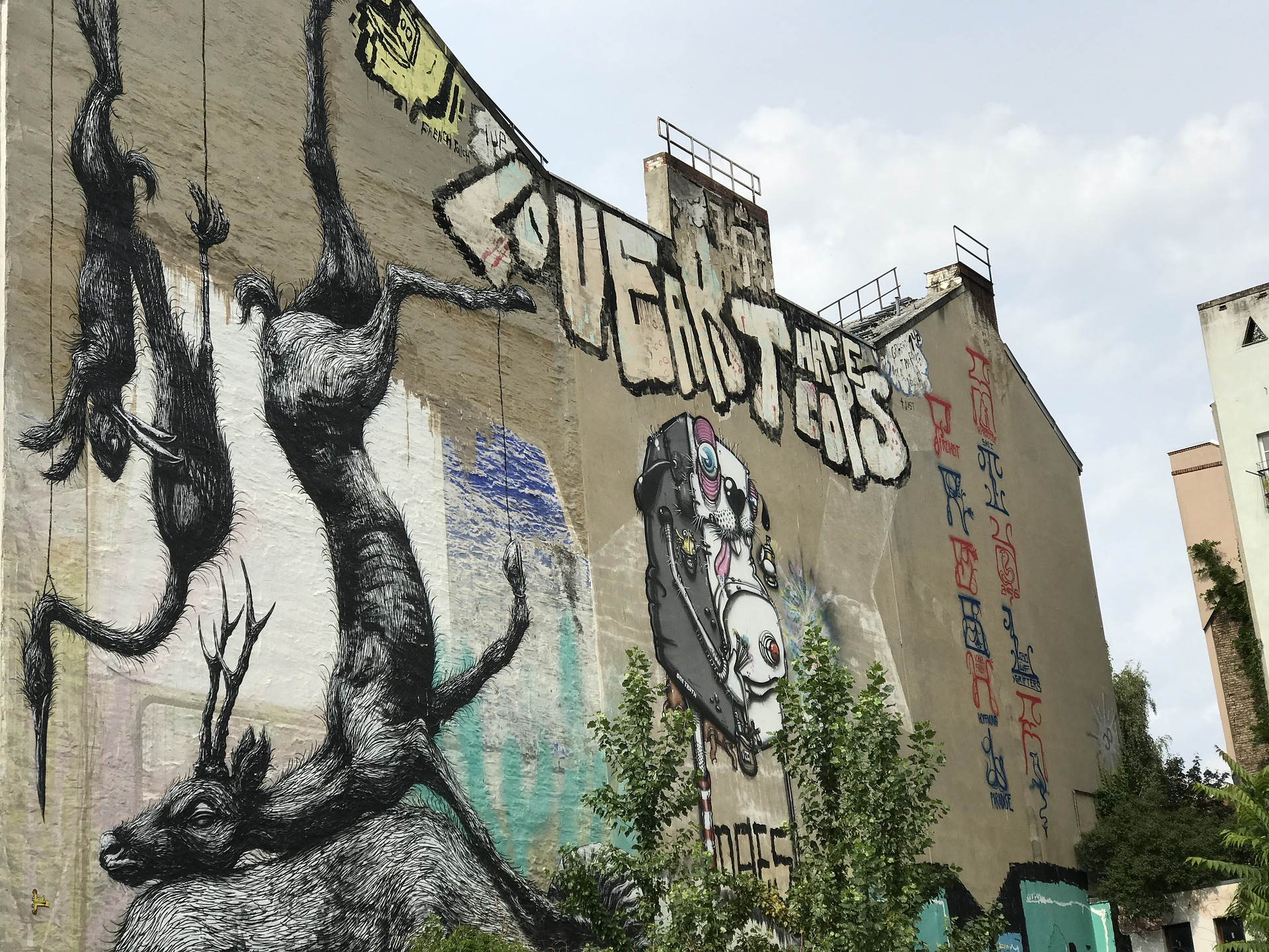 Urban Graffiti and Street Art: Another Side of Berlin