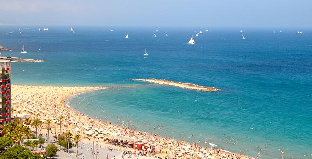 Barcelona's beach