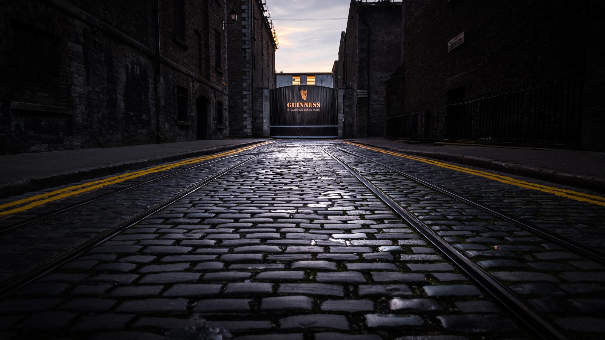 St. James' Gate at the Guinness Storehouse in Dublin