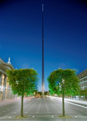 The Spire of Dublin on O' Connell Street