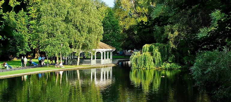 St. Stephen's Green Park