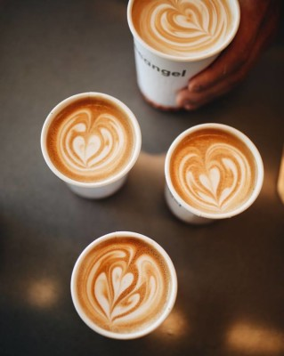 take-away coffees to go from Coffeangel Dublin
