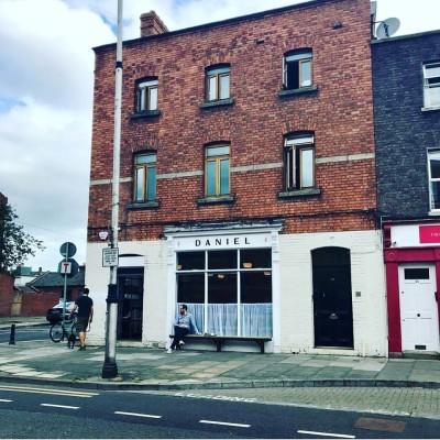 Exterior of Daniel cafe on Clanbrassil street, Dublin