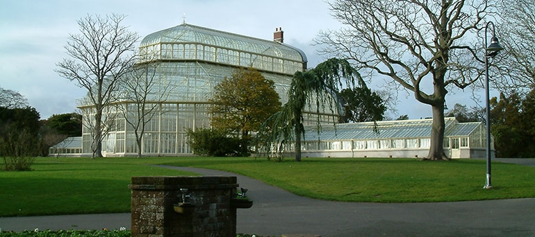The Botanic gardens in Dublin