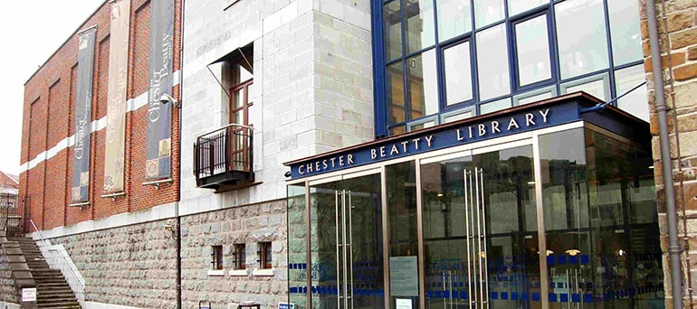 The Chester Beatty Library in Dublin