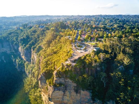 Jamison Valley, New South Wales, Australia