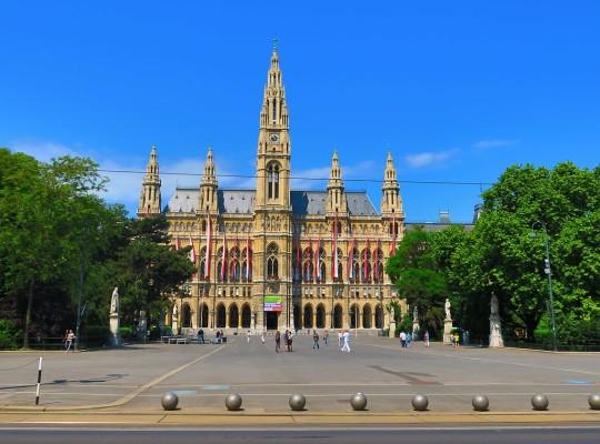 Rathausplatz in Vienna
