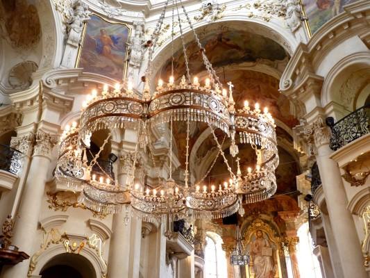 Saint Nicholas Church in Prague