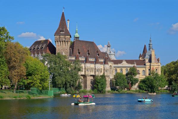 Vajdahunyad Castle in Budapest.