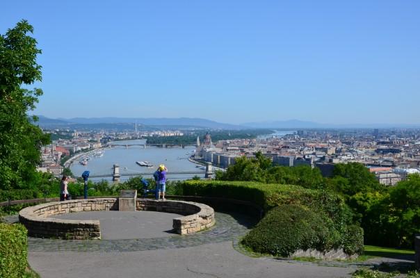 Géllert Hill in Budapest