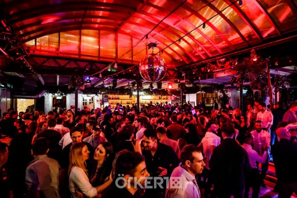 Ötkert nightclub in Budapest