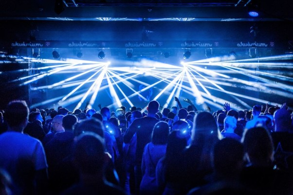 event at Akvárium Klub nightclub in Budapest