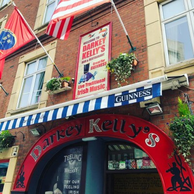 Darkey kelly's pub exterior in Dublin