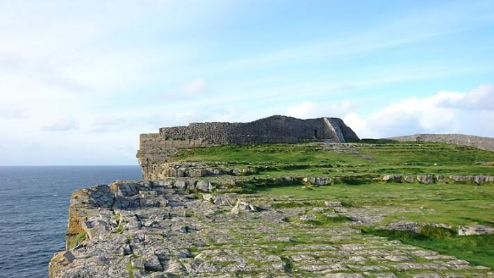 Dun Aonghasa fort on Inis Mor, Ireland