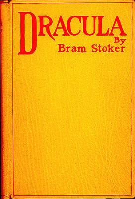 the gothic horror novel Dracula by Dublin author bram Stoker