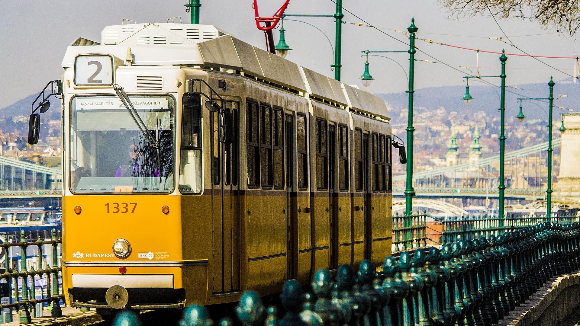 Bud rain tram