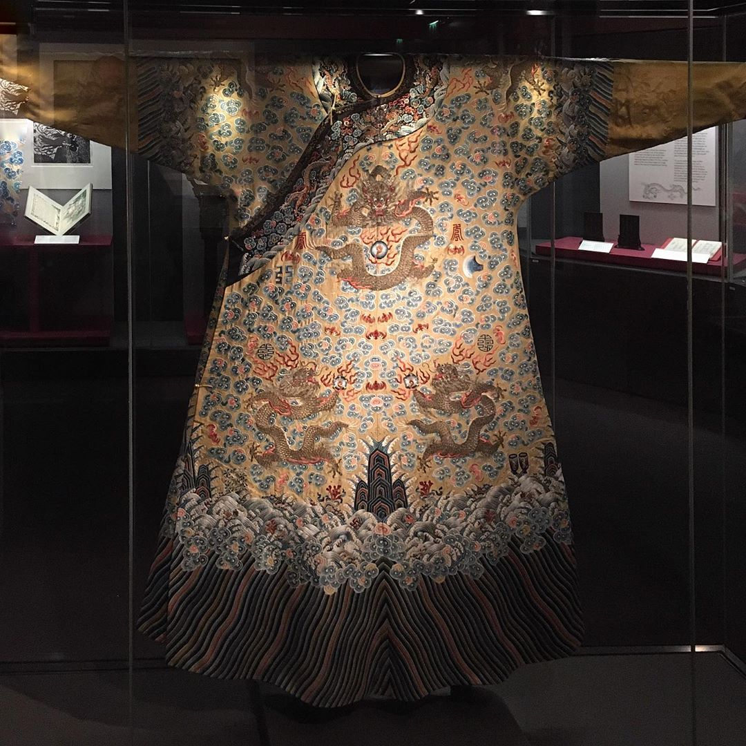 ancient Chinese dress at the Chester Beatty Library in Dublin city