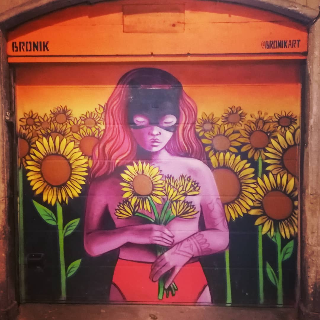 Street art in Gracia district, Barcelona