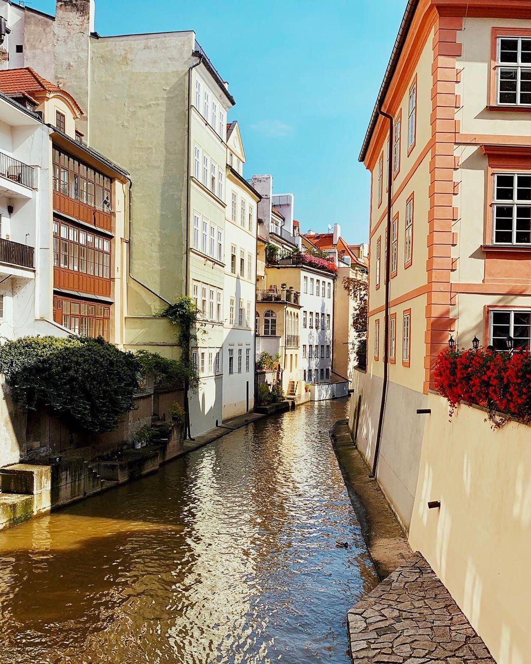 kampa island in Prague, an ideal Instagram spots in Prague