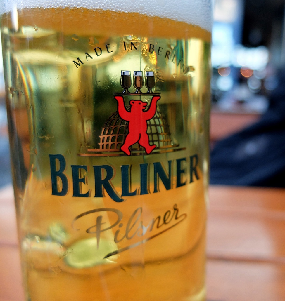 Berliner beer from berlin
