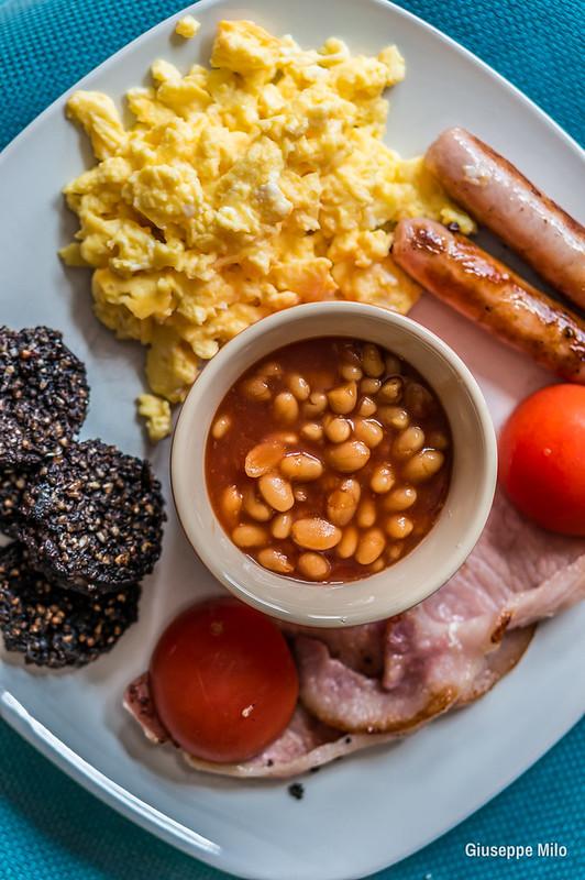 full irish breakfast in Dublin
