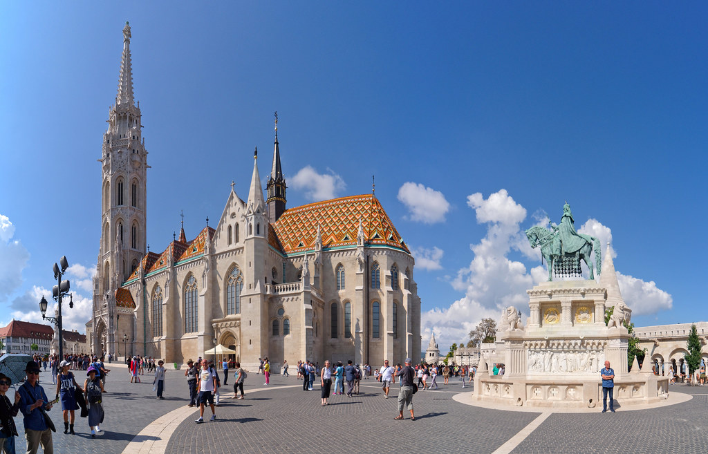 Matthias Church exterior in Budapest